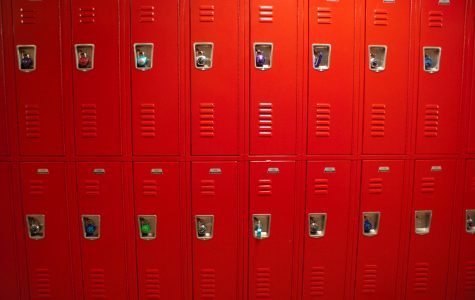 Lockers at West