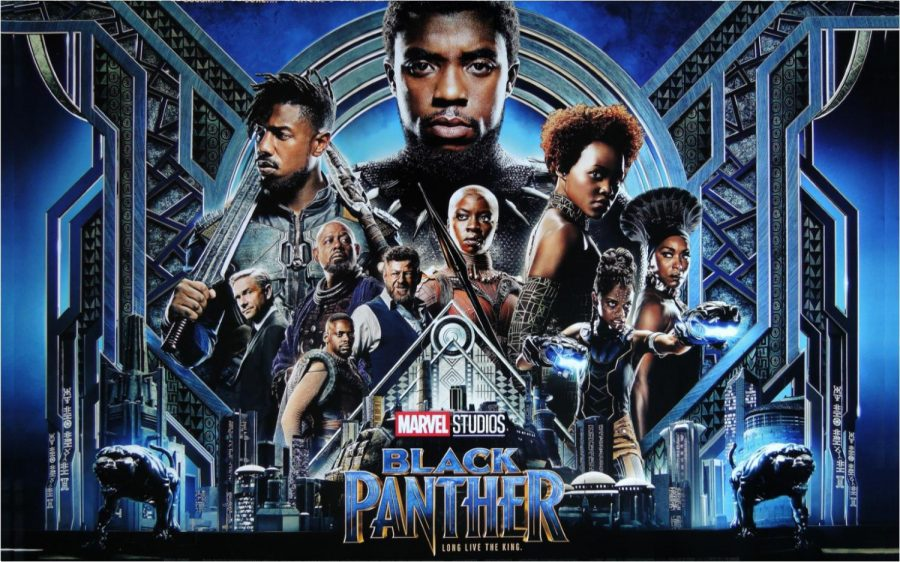 The+first+released+poster+of+Black+Panther