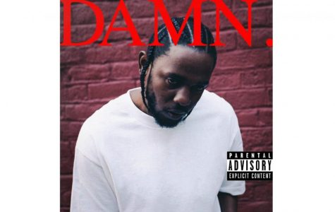 The cover of DAMN. by Kendrick Lamar