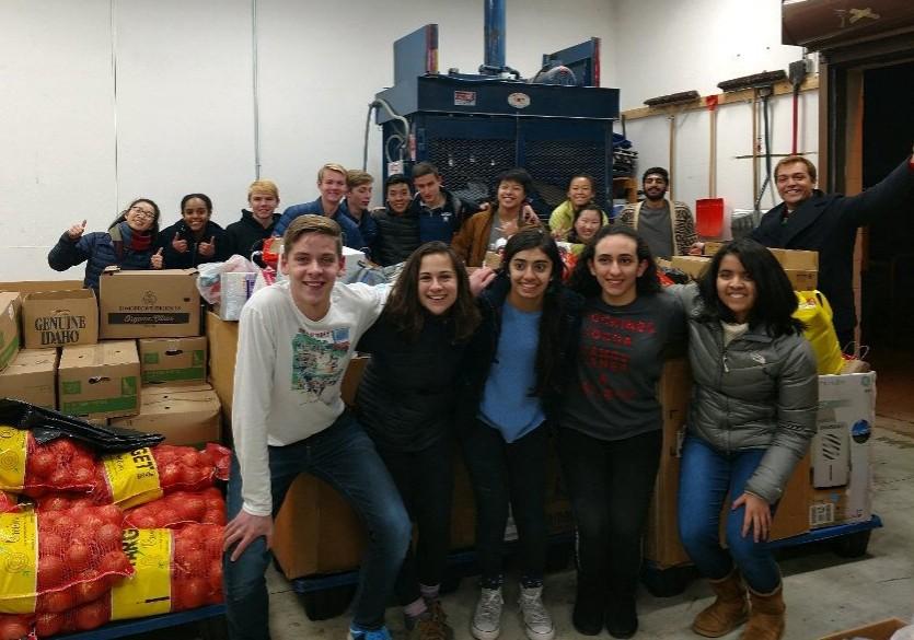 Student Senate food drive 2017.