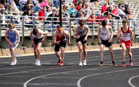Rising freshman take on Eastern Iowa Track Festival