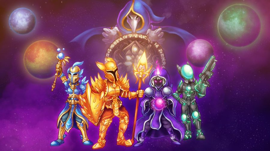Promotional artwork released by Re-Logic for Terraria.