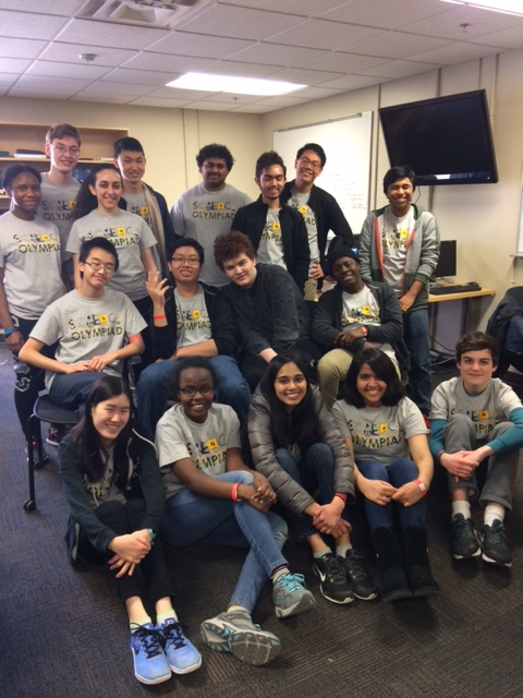 Club connection: Science Olympiad – Foundations of Journalism