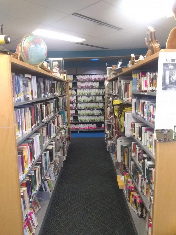 Aisle of the Patient's Library