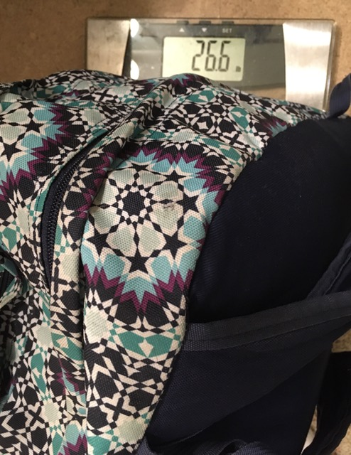 Backpacks: The weight of the world is on our shoulders